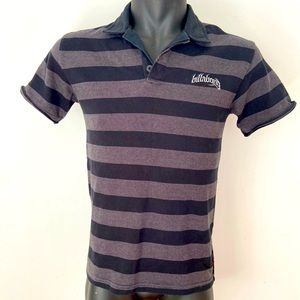 Billabong Size S Polo Shirt Cotton Distressed Look